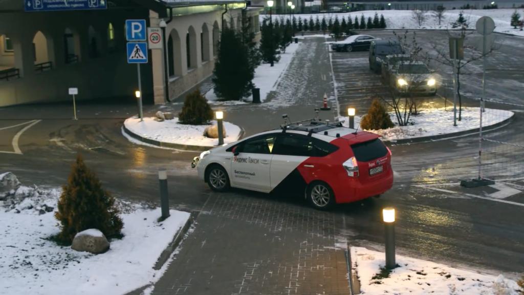 Toyota Prius автономный автомобиль Яндекс