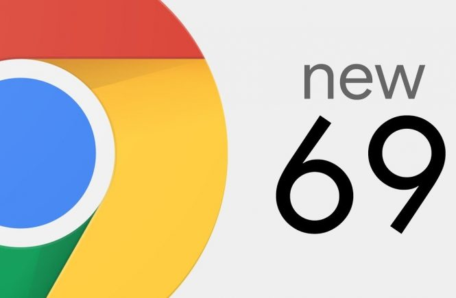 Google Chrome 69