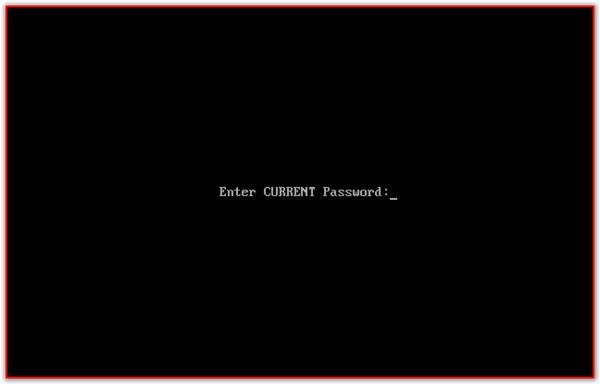 Как сбросить пароль BIOS? Enter Current Password 5 - lenium.ru