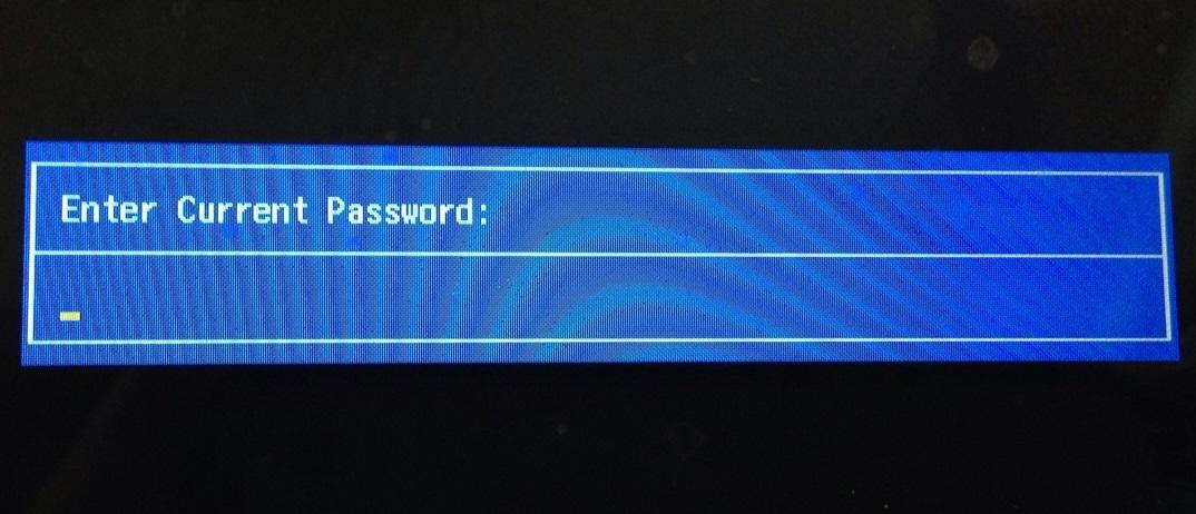 Как сбросить пароль BIOS? Enter Current Password 7 - lenium.ru