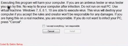 MrsMajor 2.0.exe (BossDaMajor) - страшный вирус-троян с красным экраном 2 - lenium.ru