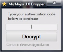 MrsMajor-3.0-Dropper-Decrypt