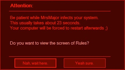 MrsMajor3.0 Attention infects your system