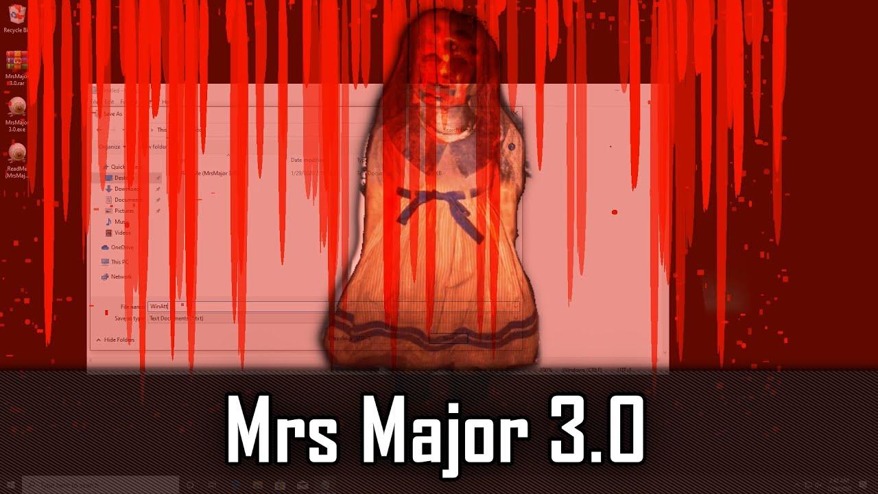 MrsMajor 3.0 - Страшный вирус, новая версия. Как его удалить? 1 - lenium.ru