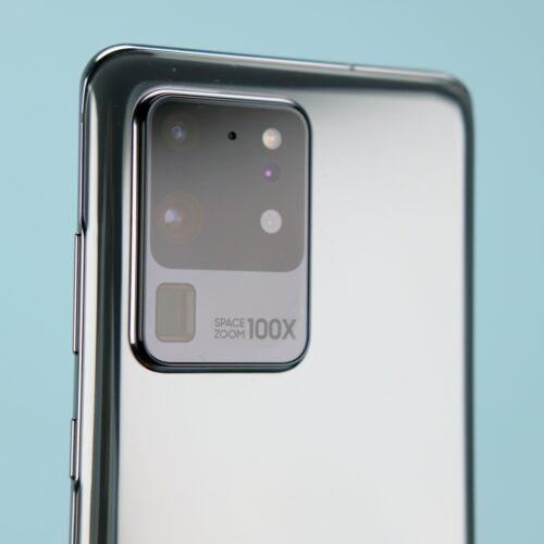 Samsung Galaxy S20 Ultra — функции камеры 100х zoom и 108MP