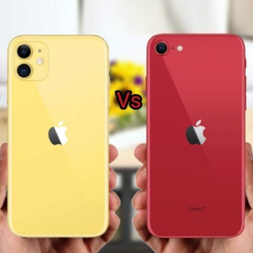 iPhone 11 Pro vs SE 2020
