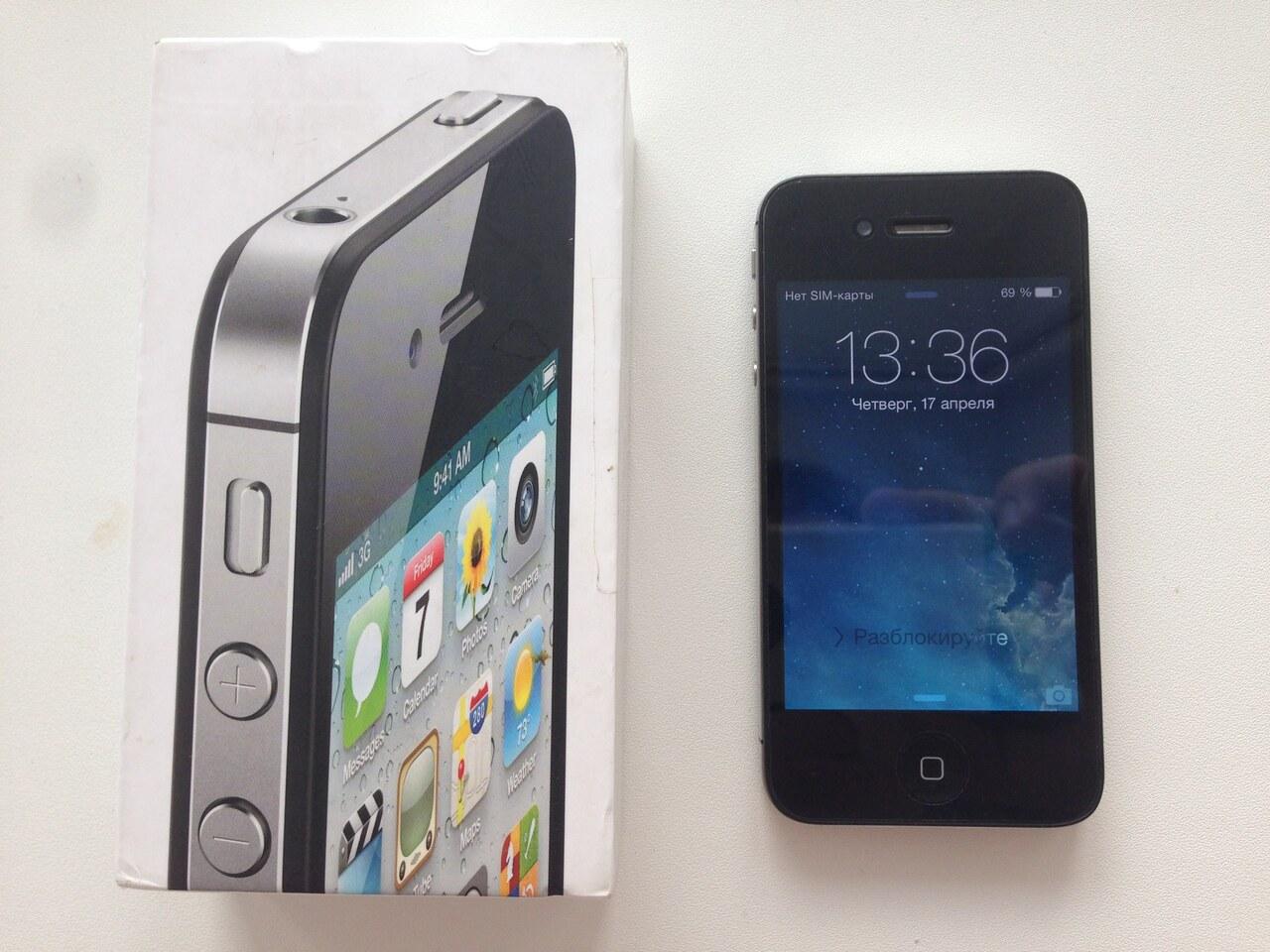 Какие устройства удивили за 2010-2019 год? / Оригинал iPhone 4S 9 - lenium.ru