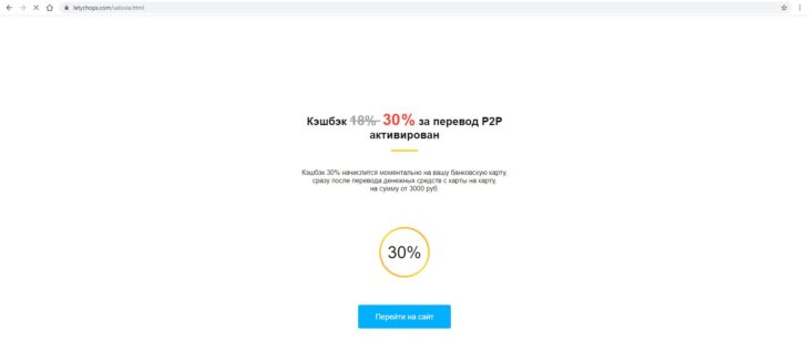 LetyShops кэшбэк сервис: Фишинг сайты и обман 7 - lenium.ru