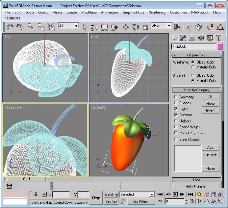 Создание логотипа FL Studio в 3D Max (2002 год)