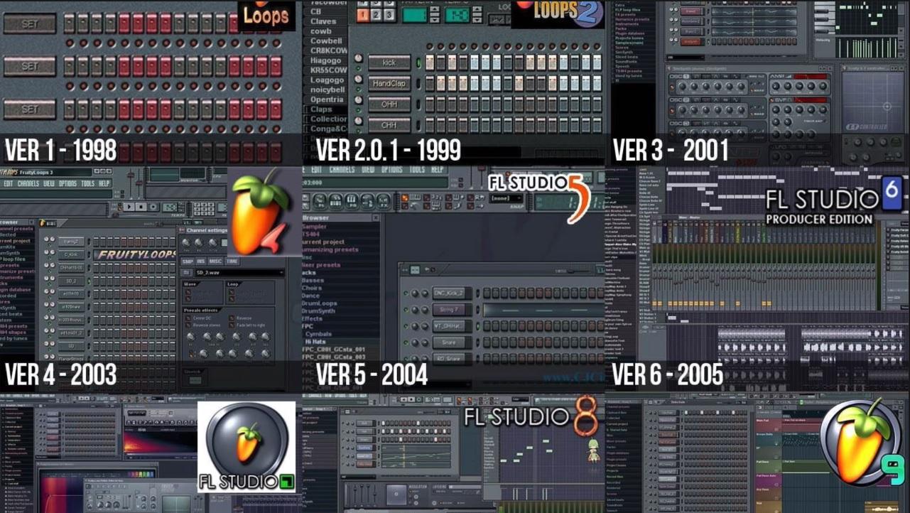 История FL Studio (Fruity Loops) и компании Image-Line 54 - lenium.ru
